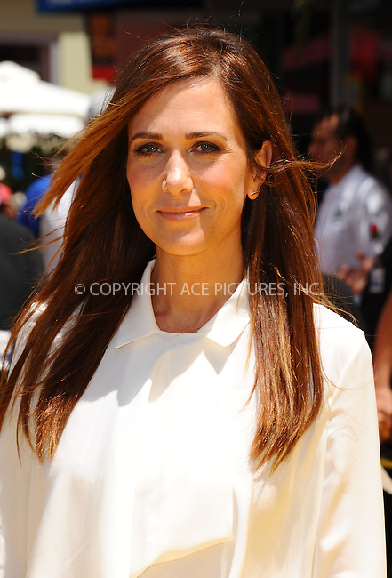 WWW.ACEPIXS.COM<br /> <br /> June 22 2013, New York City<br /> <br /> Kristen Wiig arriving at the 'Despicable Me 2' premiere at Universal CityWalk on June 22, 2013 in Universal City, California.<br /> <br /> <br /> By Line: Peter West/ACE Pictures<br /> <br /> <br /> ACE Pictures, Inc.<br /> tel: 646 769 0430<br /> Email: info@acepixs.com<br /> www.acepixs.com