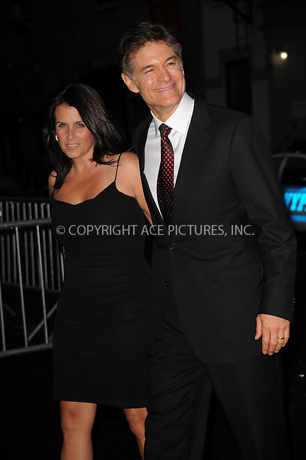 WWW.ACEPIXS.COM . . . . . .June 9, 2011...New York City...Lisa Oz and Dr.Mehmet Oz enters the Stephan Weiss Studios on June 9, 2011 in New York City.  on June 9, 2011 in New York City.....Please byline: KRISTIN CALLAHAN - ACEPIXS.COM.. . . . . . ..Ace Pictures, Inc: ..tel: (212) 243 8787 or (646) 769 0430..e-mail: info@acepixs.com..web: http://www.acepixs.com .