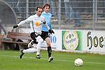 Sandhausen 05.12.2009, 3. Liga SV Sandhausen - FC Ingolstadt 04, Sandhausens Roberto Pinto gegen Ingolstadts Andreas Buchner<br /> <br /> Foto &copy; Rhein-Neckar-Picture *** Foto ist honorarpflichtig! *** Auf Anfrage in h&ouml;herer Qualit&auml;t/Aufl&ouml;sung. Ver&ouml;ffentlichung ausschliesslich f&uuml;r journalistisch-publizistische Zwecke. Belegexemplar erbeten.
