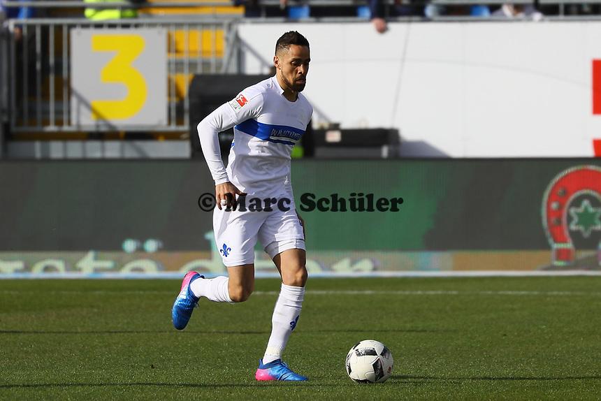 Sidney Sam (SV Darmstadt 98)- 11.03.2017: SV Darmstadt 98 vs. 1. FSV Mainz 05, Johnny Heimes Stadion am Boellenfalltor
