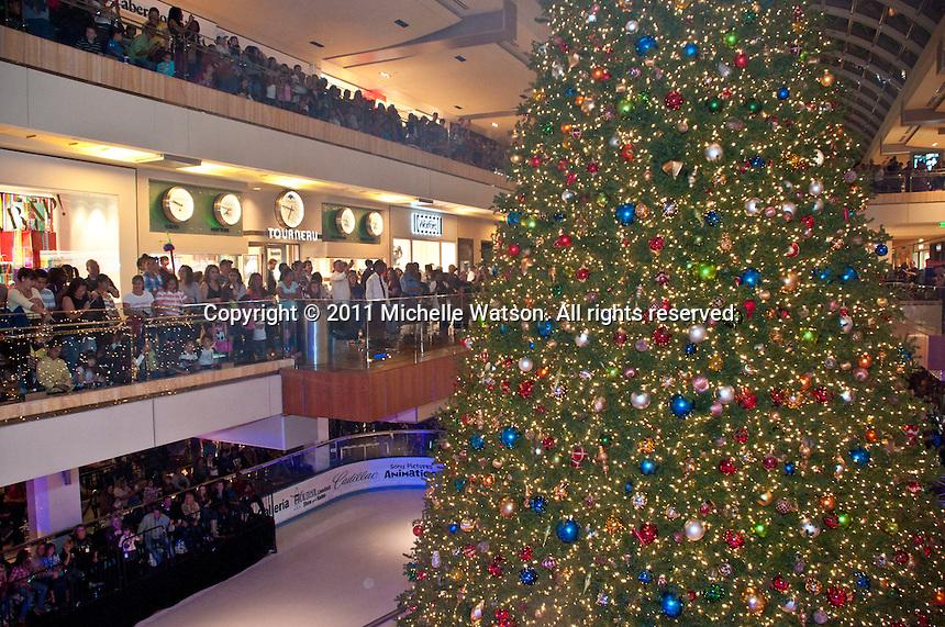 Houston Galleria Ice Spectacular and Tree Lighting Ceremony