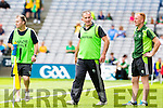 All Ireland Junior Football Final 6/8/2016<br /> Kerry manager Stephen Wallace<br /> Pic : Lorraine O'Sullivan