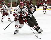 Jake Horton (Harvard - 91), Will Scherer (Brown - 4) - The Harvard University Crimson defeated the visiting Brown University Brown Bears 5-2 (EN) on Saturday, November 7, 2015, at Bright-Landry Center in Boston, Massachusetts.