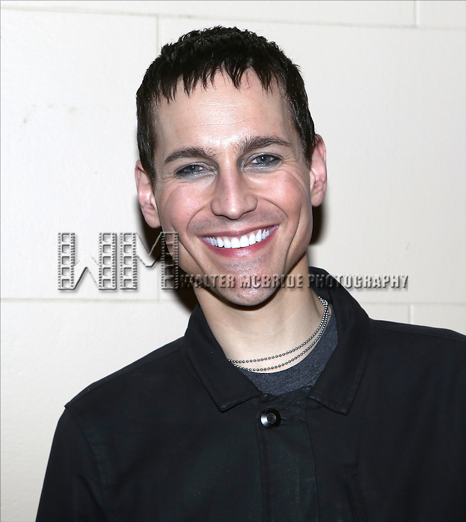 Tony Vincent attends the after performance party for the New York City Center Encores! Off-Center production of 'Randy Newman's FAUST' - The Concert at City Center on July 1, 2014 in New York City.
