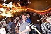 November 06, 2009. Durham, North Carolina.. The Troika music festival at the Broad Street Cafe.. Pipe.