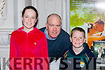 Saoirse Chris and Darragh Moloney at the Tom Cream Antartic Explorer play in the Killarney Avenue on Sunday