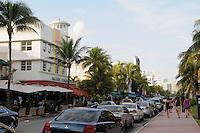 Miami Beach cityscape, Waldorf Towers Hotel South Beach, Ocean Drive at 9th Street, South Beach, Miami Beach Florida