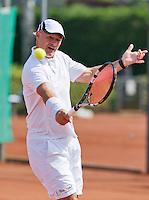 August 24, 2014, Netherlands, Amstelveen, De Kegel, National Veterans Championships, Remko Jansen (NED)<br /> Photo: Tennisimages/Henk Koster