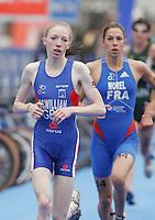 31 AUG 2007 - HAMBURG, GER - Kirsty McWilliam (GBR) - Junior Womens World Triathlon Championships. (PHOTO (C) NIGEL FARROW)
