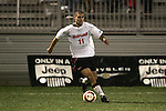 1 November 2006: Maryland's Graham Zusi. Maryland defeated Boston College 1-0 in double overtime at the Maryland Soccerplex in Germantown, Maryland in an Atlantic Coast Conference college soccer tournament quarterfinal game.