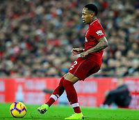 Liverpool's Nathaniel Clyne<br /> <br /> Photographer AlexDodd/CameraSport<br /> <br /> The Premier League - Liverpool v Manchester United - Sunday 16th December 2018 - Anfield - Liverpool<br /> <br /> World Copyright © 2018 CameraSport. All rights reserved. 43 Linden Ave. Countesthorpe. Leicester. England. LE8 5PG - Tel: +44 (0) 116 277 4147 - admin@camerasport.com - www.camerasport.com