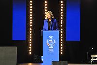 The stage during the Opening Ceremony of the Solheim Cup 2019 at Gleneagles Golf CLub, Auchterarder, Perthshire, Scotland. 12/09/2019.<br /> Picture Thos Caffrey / Golffile.ie<br /> <br /> All photo usage must carry mandatory copyright credit (© Golffile | Thos Caffrey)