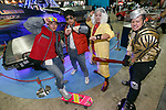 Cosplayers dressed as characters of Back to the Future movie pose for a photograph during the Tokyo Comic Con 2017 at Makuhari Messe International Exhibition Hall on December 1, 2017, Tokyo, Japan. This is the second year that San Diego Comic-Con International held the event in Japan. Tokyo Comic Con runs from December 1 to 3. (Photo by Rodrigo Reyes Marin/AFLO)