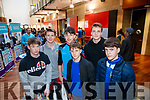 Castleisland Community College students pictured at the IT Tralee Open Day on Friday morning last were l-r: Ben Cooney, James McDonnell, Eamonn Nolan, Gregorio Colturi, Scott Hoffman and Conor O'Sullivan.