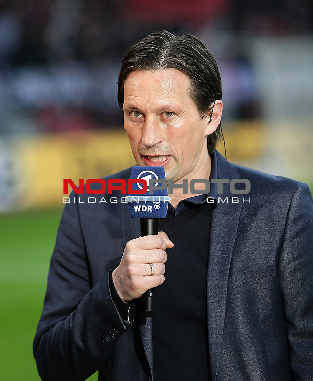 08.04.2015, BayArena, Leverkusen, DFB Pokal, Bayer 04 Leverkusen vs. Bayern M&uuml;nchen<br /> Trainer Roger Schmidt (Leverkusen)<br /> Foto &copy; nordphoto /  Bratic