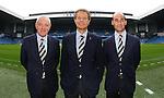 Walter Smith, Alastair Johnston and Martin Bain together at Ibrox