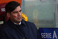 Football, Serie A: AS Roma - Brescia FC, Olympic stadium, Rome, November 24, 2019. <br /> AS Roma' s coach Paulo Fonseca prior to the Italian Serie A football match between Roma and Brescia at Olympic stadium in Rome, on November 24, 2019. <br /> UPDATE IMAGES PRESS/Isabella Bonotto