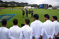 Photographers arrange a Bangladesh team photo during day four of the international cricket match between NZ Black Caps and Bangladesh at the Basin Reserve in Wellington, New Zealand on Monday, 11 March 2019. Photo: Dave Lintott / lintottphoto.co.nz