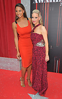 Laura Rollins and Andrea Gordon at the British Soap Awards 2018, Hackney Town Hall, Mare Street, London, England, UK, on Saturday 02 June 2018.<br /> CAP/CAN<br /> &copy;CAN/Capital Pictures