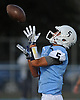 Vincent Vollaro #5 of Oceanside gets ready to return a kickoff during the second quarter of a Nassau County Conference I varsity football game against Farmingdale at Oceanside High School on Friday, Sept. 16, 2016.