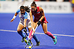 Maho Segawa (JPN), <br /> AUGUST 31, 2018 - Hockey : <br /> Women's Final match <br /> between Japan 2-1 India  <br /> at Gelora Bung Karno Hockey Field <br /> during the 2018 Jakarta Palembang Asian Games <br /> in Jakarta, Indonesia. <br /> (Photo by Naoki Morita/AFLO SPORT)