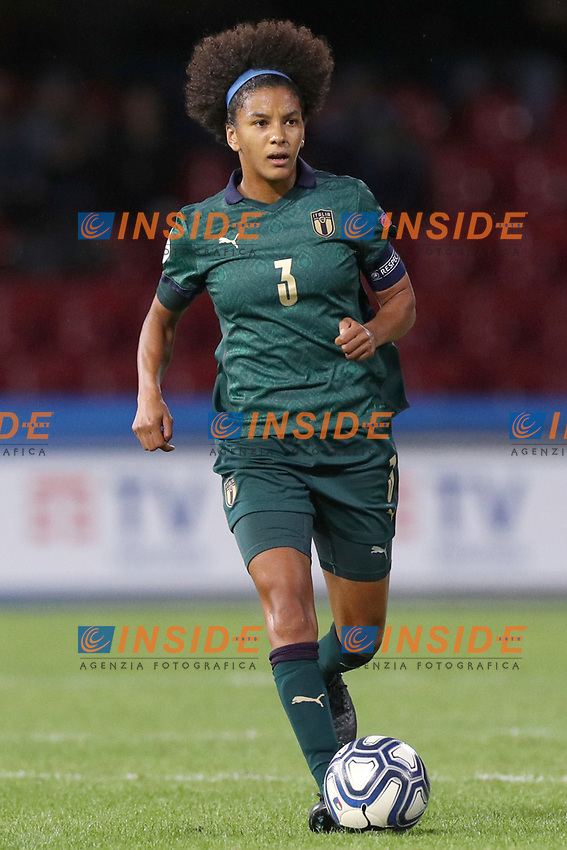 Sara Gama of Italy<br /> Benevento 08-11-2019 Stadio Ciro Vigorito <br /> Football UEFA Women's EURO 2021 <br /> Qualifying round - Group B <br /> Italy - Georgia<br /> Photo Cesare Purini / Insidefoto