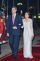 FEB 13 Spanish Royals Attend Gala Dinner