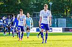 Uppsala 2014-06-26 Fotboll Superettan IK Sirius - IFK V&auml;rnamo :  <br /> V&auml;rnamos Joel L&ouml;w deppar med lagkamrater efter matchen<br /> (Foto: Kenta J&ouml;nsson) Nyckelord:  Superettan Sirius IKS Studenternas IFK V&auml;rnamo depp besviken besvikelse sorg ledsen deppig nedst&auml;md uppgiven sad disappointment disappointed dejected