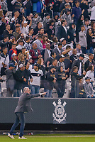 SÃO PAULO, SP, 05.10.2018 - CORINTHIANS-FLAMENGO - Dorival Júnior, treinador do Flamengo durante partida contra o Corinthians em jogo válido pela 28ª rodada do Campeonato Brasileiro 2018 na Arena Corinthians em São Paulo, nesta sexta-feira, 05.  (Foto: Anderson Lira/Brazil Photo Press)