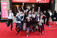 School of Rock cast<br /> arrives for the The Prince&rsquo;s Trust Celebrate Success Awards 2017 at the Palladium Theatre, London.<br /> <br /> <br /> &copy;Ash Knotek  D3241  15/03/2017