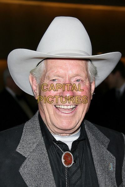 JACK WILLIAMS.The John Wayne Cancer Institute Auxiliary 21st Annual Odyssey Ball held at the Beverly Hilton Hotel, Beverly Hills, California, USA, 8th April 2006..portrait headshot cowboy hat.Ref: ADM/ZL.www.capitalpictures.com.sales@capitalpictures.com.©Zach Lipp/AdMedia/Capital Pictures.