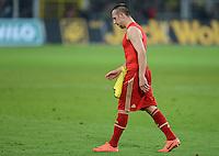 FUSSBALL   1. BUNDESLIGA   SAISON 2011/2012   30. SPIELTAG Borussia Dortmund - FC Bayern Muenchen            11.04.2012 Franck Ribery (FC Baern Muenchen) verlaesst nach dem Abpfiff enttaeuscht den Platz