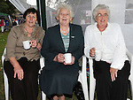 Dora Brodigan, Kathy McGrane and Olive Hanratty pictured at the Fair on the green in Duleek. Photo: www.pressphotos.ie