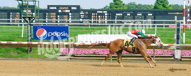 Proulette winning at Delaware Park on 7/7/15