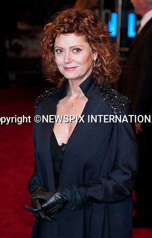 "Susan Sarandon.Their Royal Highnesses The Prince of Wales and The Duchess of Conwall attend the 2009 Royal film performance and world premiere of The Lovely Bones at the Odeon Leicester Square_London, 24/11/2009.Mandatory Photo Credit: ©Dias/Newspix International..**ALL FEES PAYABLE TO: ""NEWSPIX INTERNATIONAL""**..PHOTO CREDIT MANDATORY!!: NEWSPIX INTERNATIONAL(Failure to credit will incur a surcharge of 100% of reproduction fees)..IMMEDIATE CONFIRMATION OF USAGE REQUIRED:.Newspix International, 31 Chinnery Hill, Bishop's Stortford, ENGLAND CM23 3PS.Tel:+441279 324672  ; Fax: +441279656877.Mobile:  0777568 1153.e-mail: info@newspixinternational.co.uk"