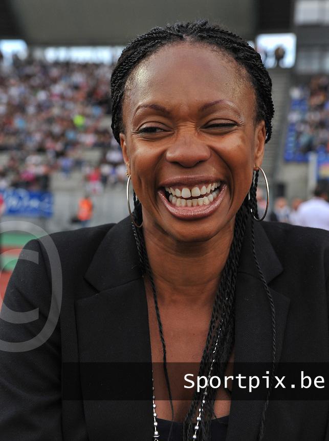 Football Club Feminin Juvisy Essonne - Olympique Lyon :.Laura Flessel.foto DAVID CATRY / JOKE VUYLSTEKE / Vrouwenteam.be