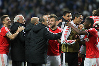 Players Benfica`s celebrates victory during during the League Cup football match between FC Porto and SL Benfica at Dragão Stadium in Porto on April 27, 2014 (PC: Pedro Lopes/Brazil Photo Press)