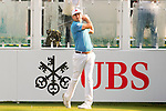 Daniel Brooks of England tees off the first hole during the 58th UBS Hong Kong Golf Open as part of the European Tour on 10 December 2016, at the Hong Kong Golf Club, Fanling, Hong Kong, China. Photo by Marcio Rodrigo Machado / Power Sport Images