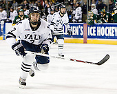 Mike Matczak (Yale - 7) - The University of Vermont Catamounts defeated the Yale University Bulldogs 4-1 in their NCAA East Regional Semi-Final match on Friday, March 27, 2009, at the Bridgeport Arena at Harbor Yard in Bridgeport, Connecticut.