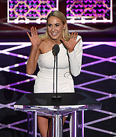 """BEVERLY HILLS - SEPTEMBER 7: Nikki Glaser appears onstage at the """"Comedy Central Roast of Alec Baldwin"""" at the Saban Theatre on September 7, 2019 in Beverly Hills, California. (Photo by Frank Micelotta/PictureGroup)"""