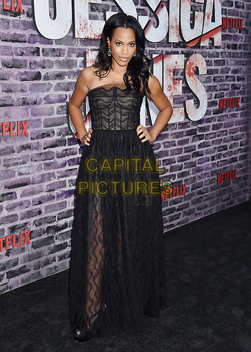 """HOLLYWOOD, CA - MAY 28: Tiffany Mack attends a Special Screening Of Netflix's """"Jessica Jones"""" Season 3 at ArcLight Hollywood on May 28, 2019 in Hollywood, California.<br /> CAP/ROT/TM<br /> ©TM/ROT/Capital Pictures"""