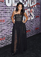 "HOLLYWOOD, CA - MAY 28: Tiffany Mack attends a Special Screening Of Netflix's ""Jessica Jones"" Season 3 at ArcLight Hollywood on May 28, 2019 in Hollywood, California.<br /> CAP/ROT/TM<br /> ©TM/ROT/Capital Pictures"