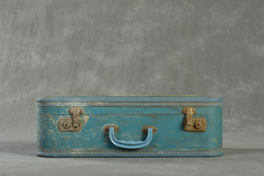 Willard Suitcases Project  / Alice R<br /> &copy;2013 Jon Crispin<br /> All Rights Reserved
