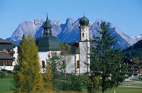 Europe/Autriche/Tyrol/Seefeld: L'église