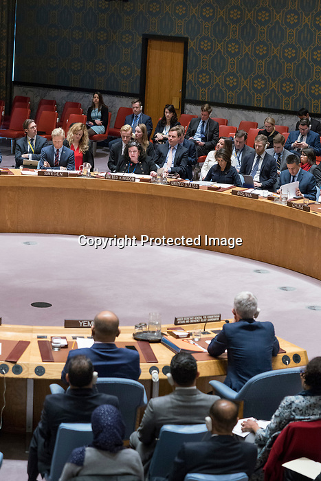 Security Council Chamber<br />   The situation in the Middle East