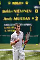 24-06-10, Tennis, England, Wimbledon, Mueeay wins