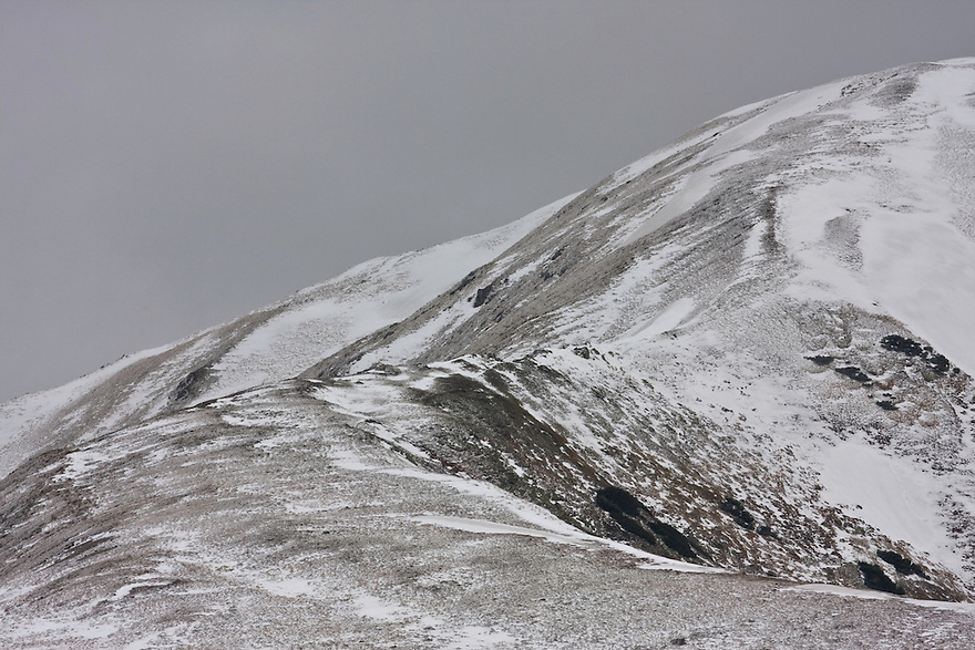 Detail of Mount Vel'kà kopa (2052 m asl) in the Western Tatras, Slovakia. June 2009. Mission: Ticha