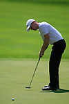 David Horsey (ENG) takes his putt on the 5th green during Day 3 of the BMW Italian Open at Royal Park I Roveri, Turin, Italy, 11th June 2011 (Photo Eoin Clarke/Golffile 2011)