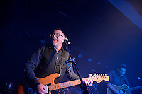 Dave Dobbyn, Stories Old &amp; New, with Warren Maxwell, Wayne Mason, Iva Lamkum, Thomas Oliver and supporting artist Mark Vanilau at Bodega, Wellington, New Zealand Saturday 25 May 2013.<br />