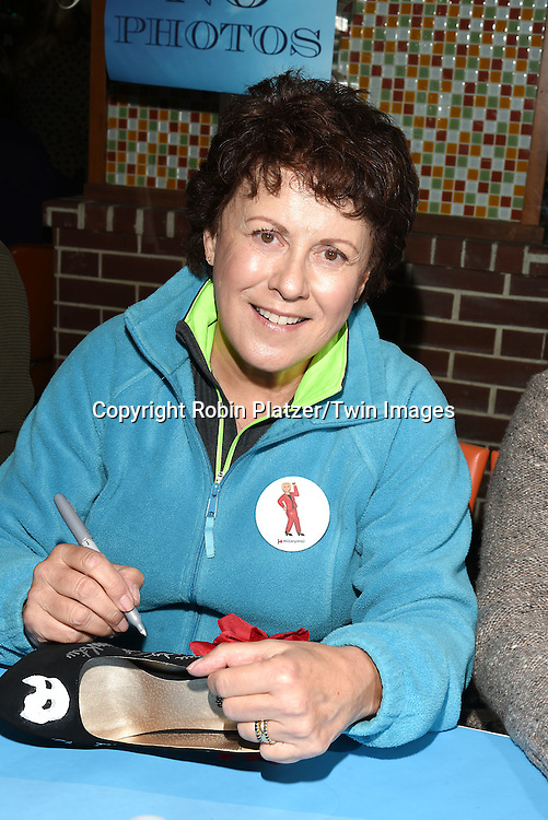 Judy Kaye attends the Broadway Cares/Equity Fights Aids Flea Market and Grand Auction on September 25, 2016 at the Music Box Theatre and in Shubert Ally in New York, New York, USA. <br /> <br /> photo by Robin Platzer/Twin Images<br />  <br /> phone number 212-935-0770